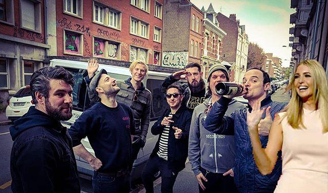 #unwantedivanka outside the @sweetempirenl and @_dissociates_ show last year  #punk #punkrock