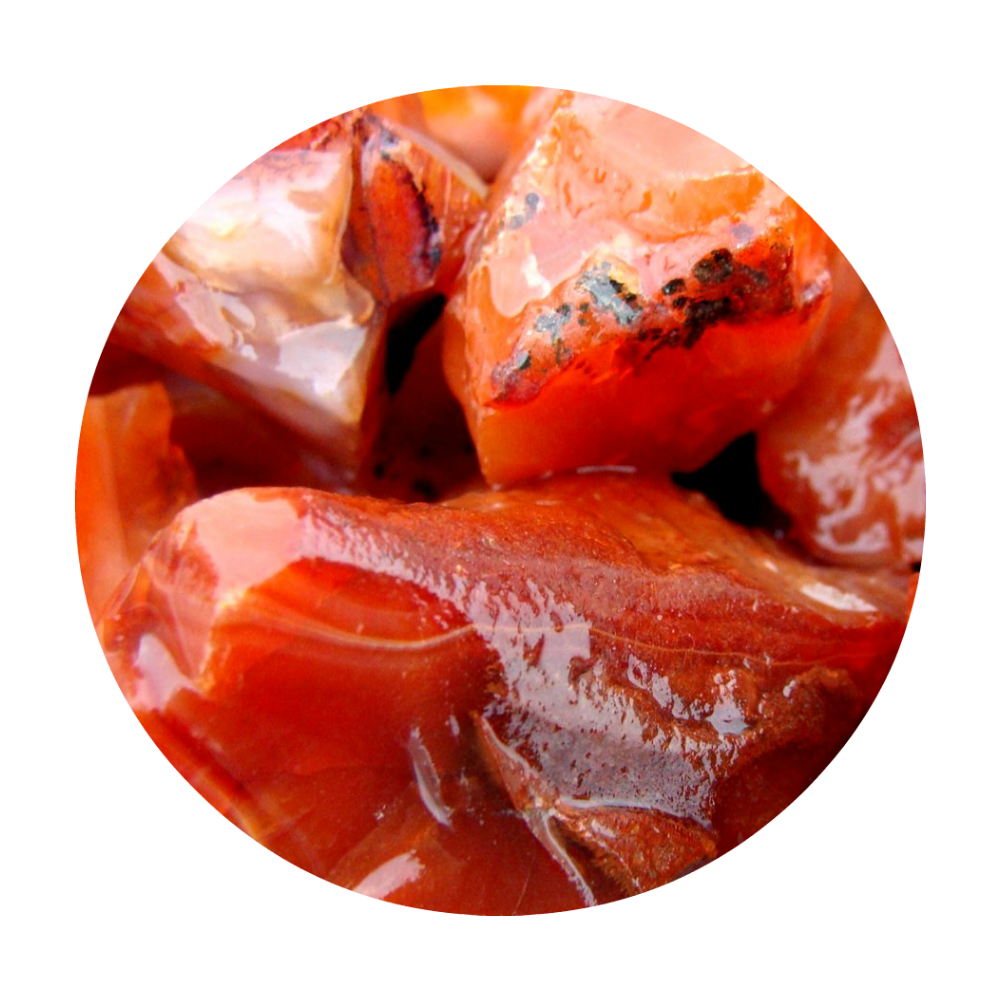 CARNELIAN - helps with all PMS issues