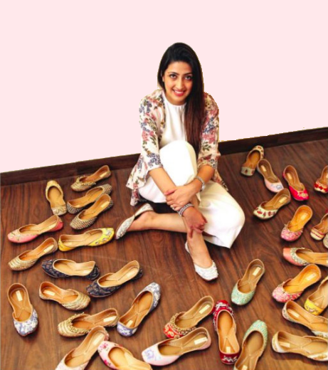 JUTTIs = NEEDLEDUST - Shirin Mann's brand Needledust was born in 2014 out of her own need for comfortable yet exquisite Juttis. Within 4 years she has managed to carve a top spot for her brand in the market that cannot be challenged no matter how much her competitors try. She noticed a gap in the Indian market for the age old hand-crafted footwear that once adorned the royal feet, and managed to not only bring it back in fashion but also successfully monopolise the very gap. The brand has been worn by every renowned celebrity and is recognised by every Indian girl. Behind the intricately adorned traditional flats of Needledust is a very strong businesswoman.In this exclusive interview, Shirin sheds light on the business aspect of her brand, and shares some valuable insight as an entrepreneur.