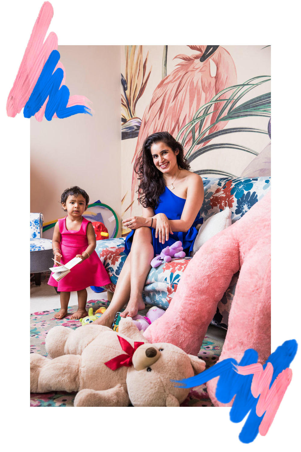 DERMATOLOGIST - Born & Brought up in New York, Columbia bred Dr. Kiran Lohia moved to Delhi a few years ago and within a short span of time through her work managed to attract a cult following that ranges from loyal clients to an avid social media community. She juggles solo motherhood and her very own dermatology practice at Isya Derm Clinic with what appears as seamless ease, when actually it is all tedious management. Her youthful glowy skin, cheerful yet calm persona and glam life might seem charming, but it takes a load of work. We adore how she has taken her career to the next level without compromising on taking care of her 2 year old daughter Raina. In this exclusive interview with BeBadass we chat with the Badass Doctor to understand how she manages her skin, her daughter and her work so successfully.
