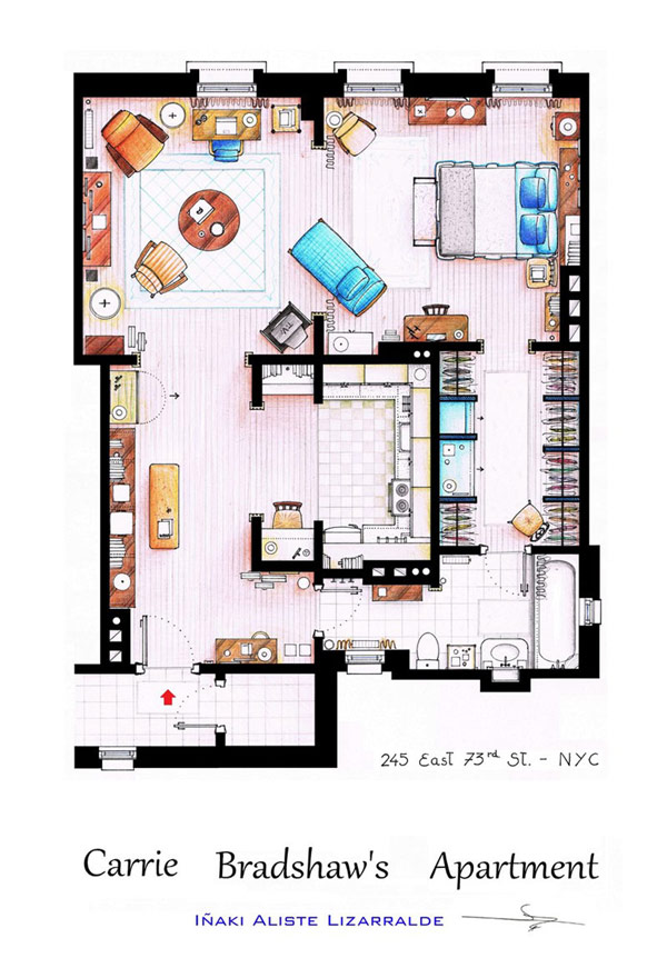 Every woman's dream apartment