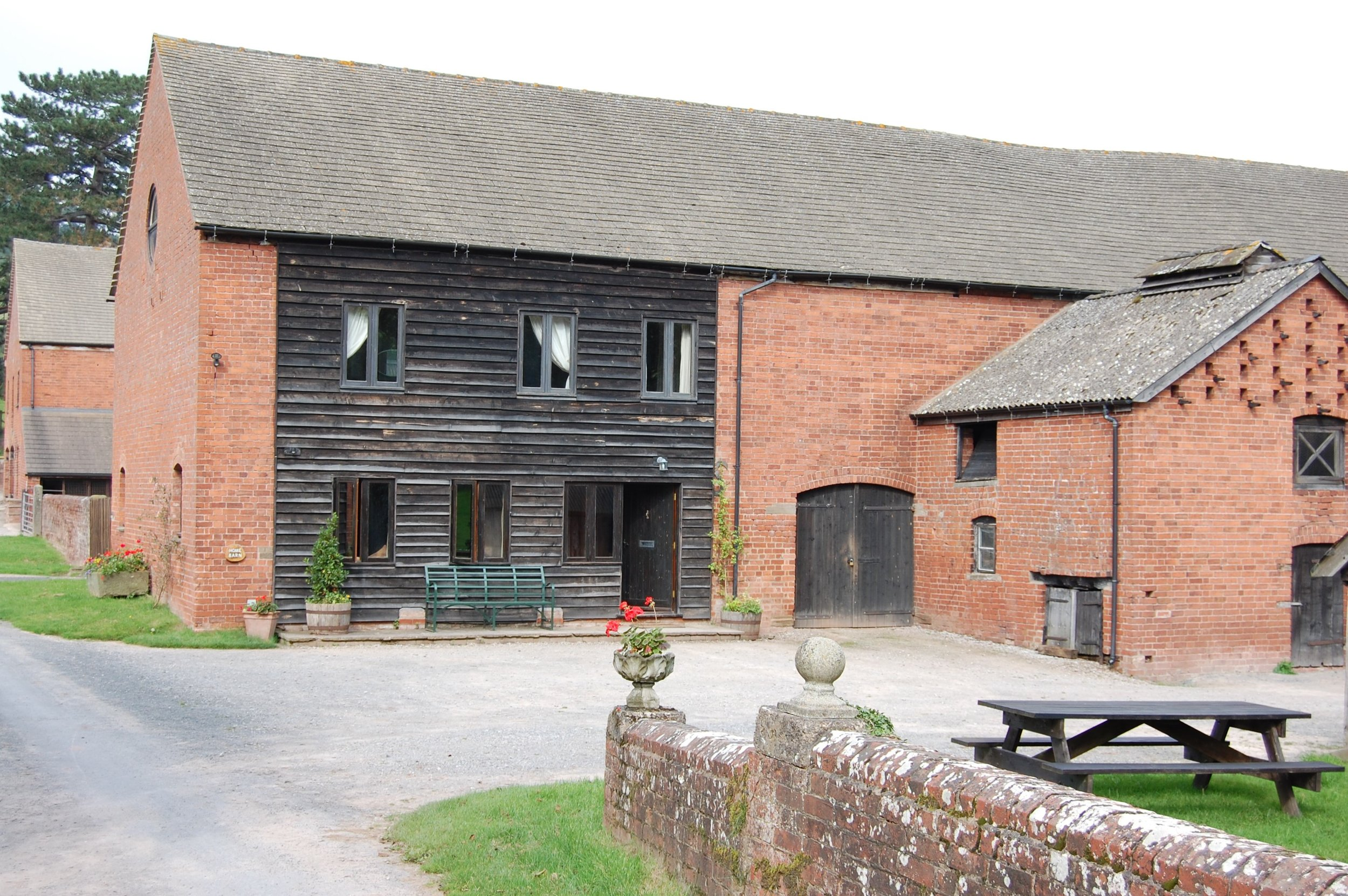 Check out our lovely holiday barn