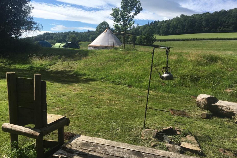 Free-range camping