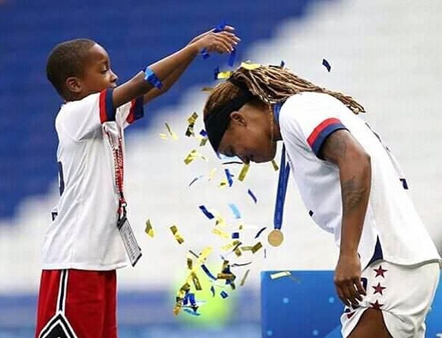 💛⚽️💛 from • @jmac1422 We did it, bud!!! 🇺🇸 #WorldChamps