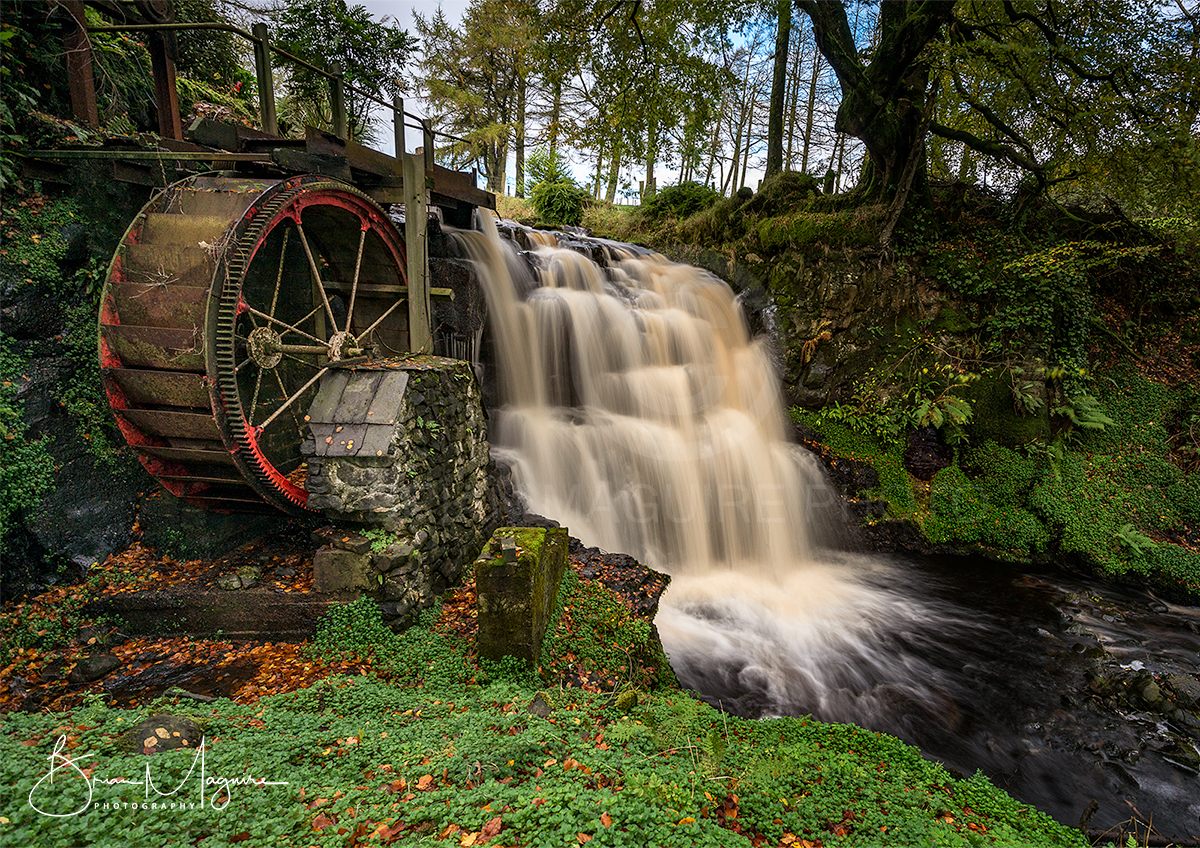 NDON0004 Glenariff Waterwheel, County Antrim