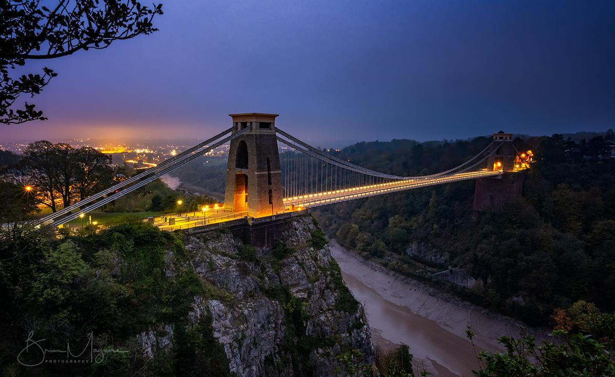 BRS0001 Clifton Bridge Dawn