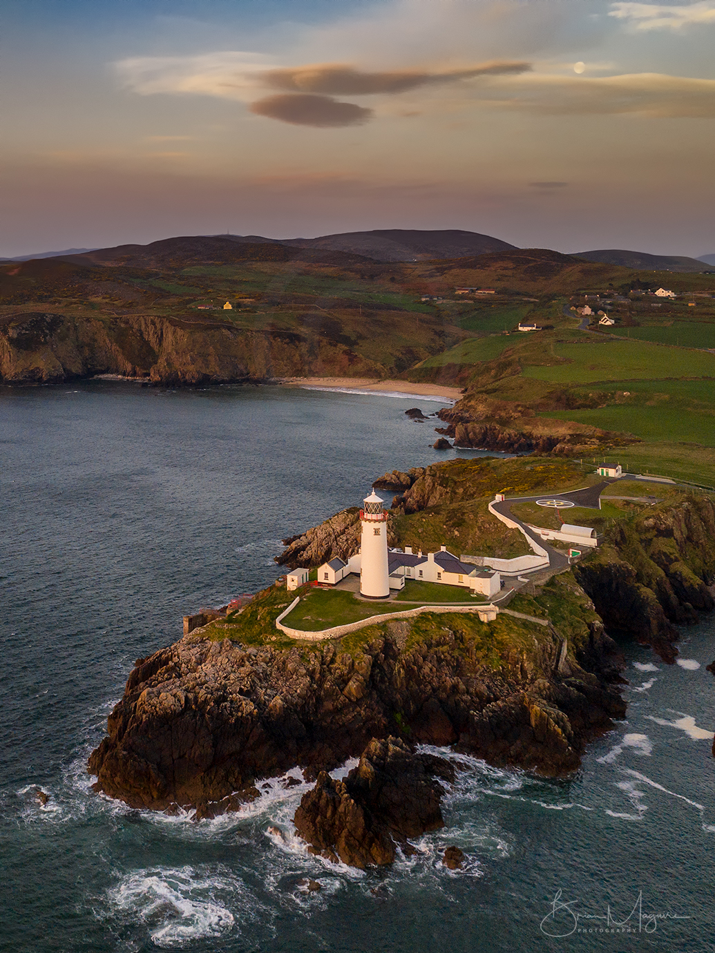 DL0044 Fanad Lighthouse- aerial