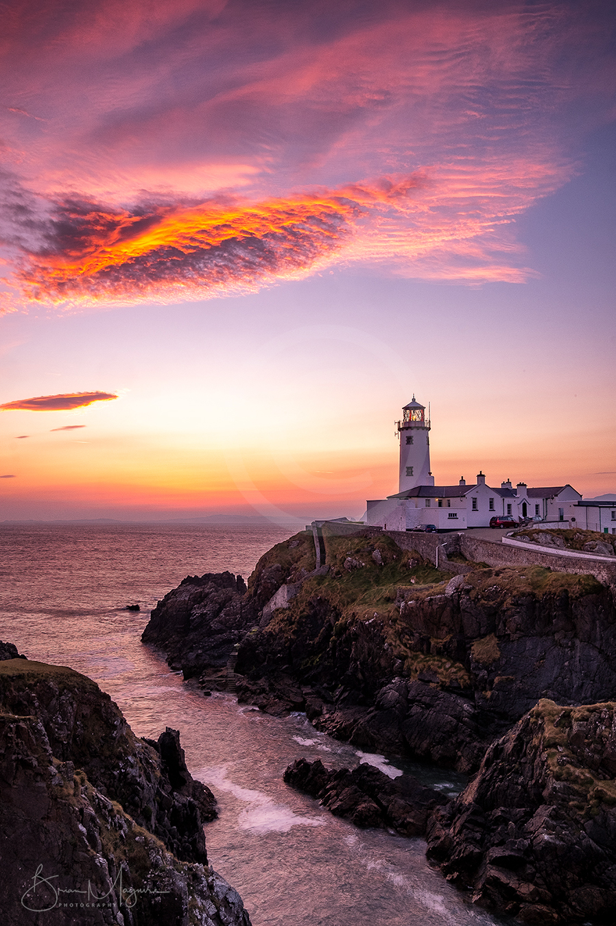 DL0048 - Fanad sunrise - portrait
