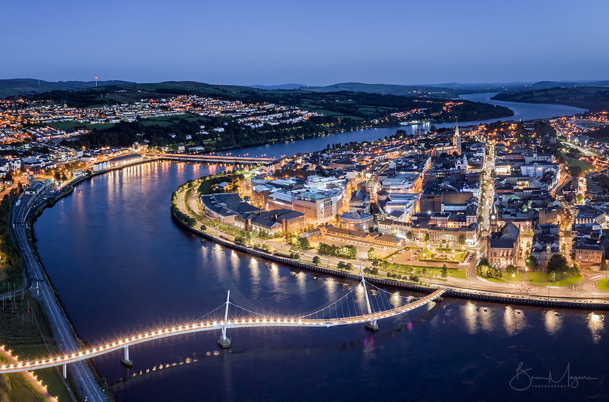 ND0019 Peace Bridge, River Foyle