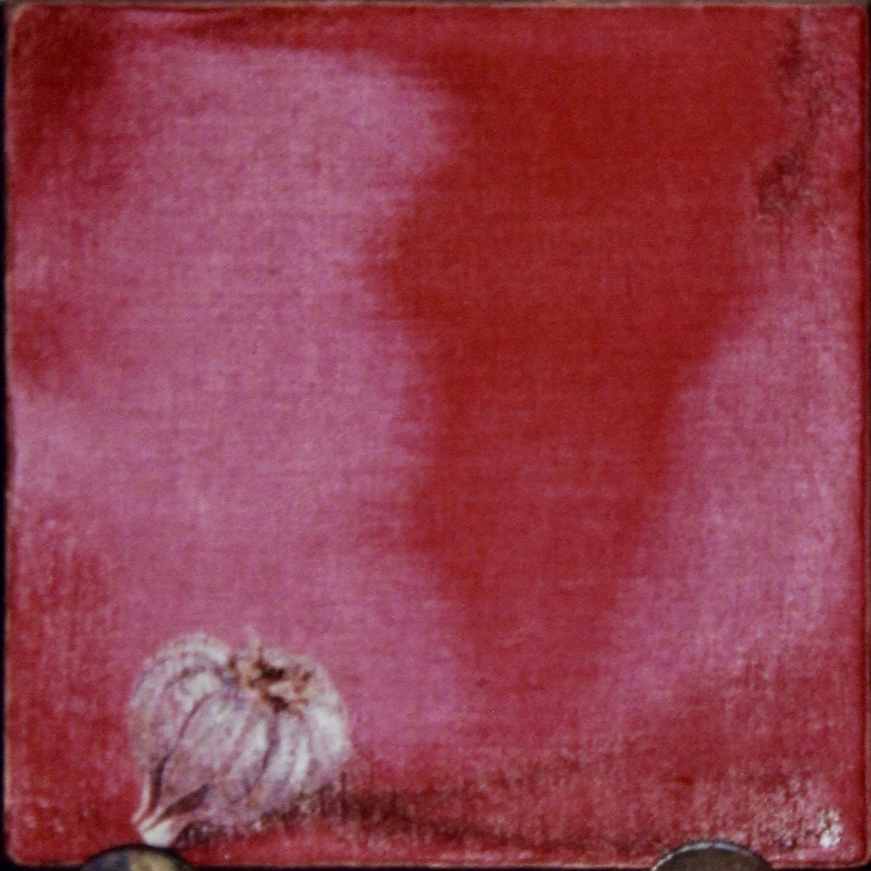 Cebolla -  1997 oil on canvas 30cm x 30cm (sold)