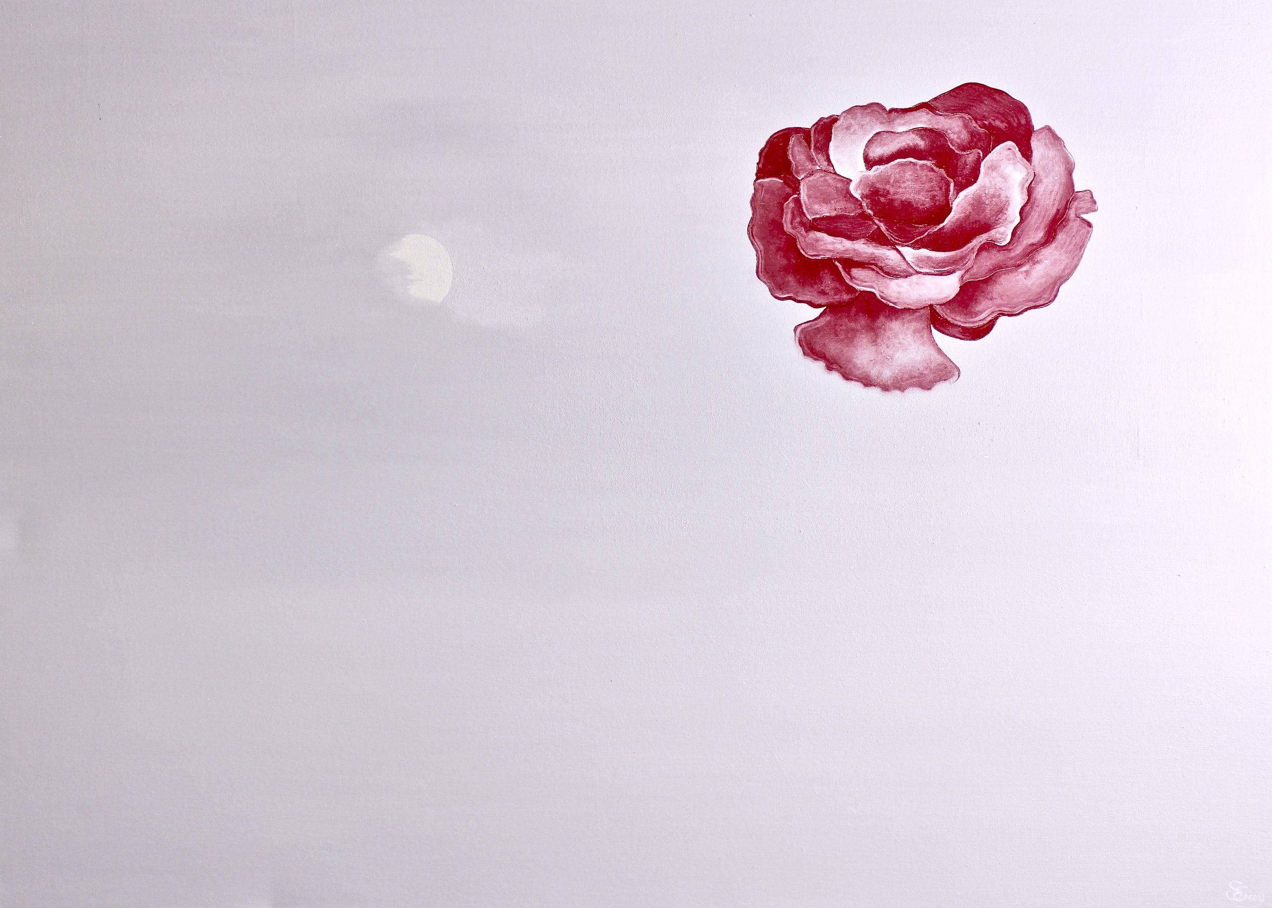 Moon Blossom -  2014 oil on canvas 82cm x 114cm