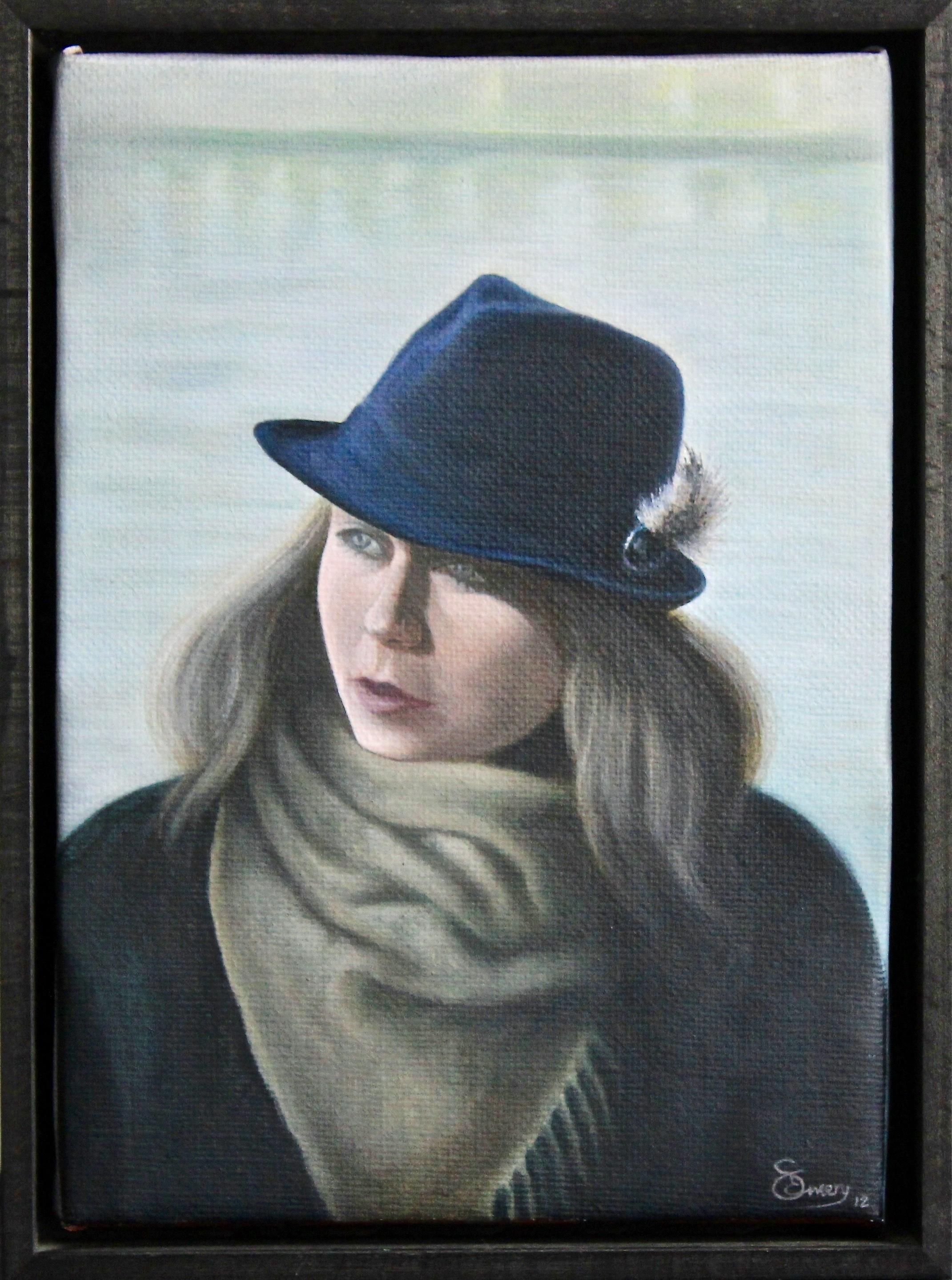 London Lunch -  2013 acrylic on canvas 29cm x 39cm