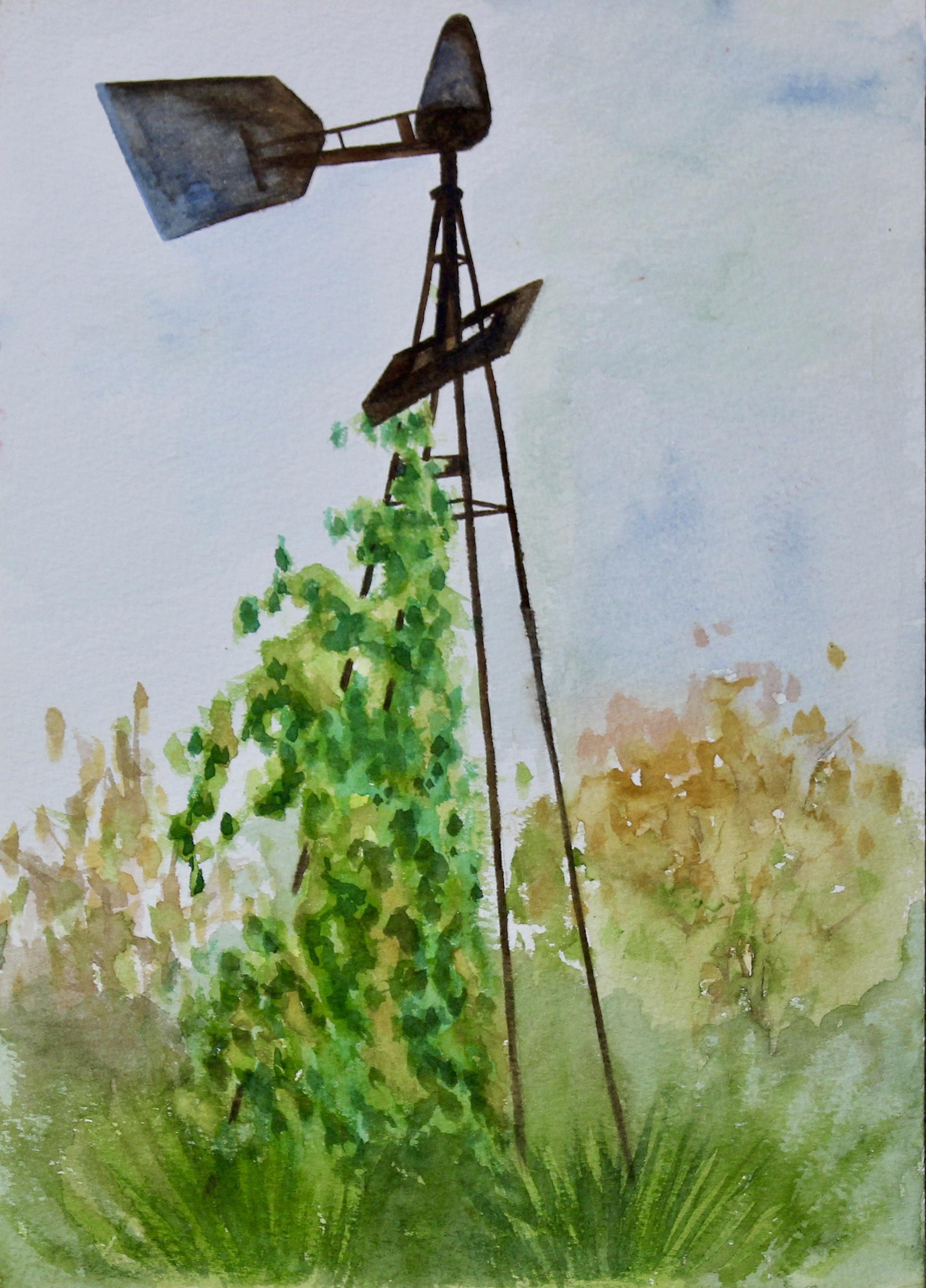 Mansfield 2 -  2003 watercolour on paper 20cm x 26cm
