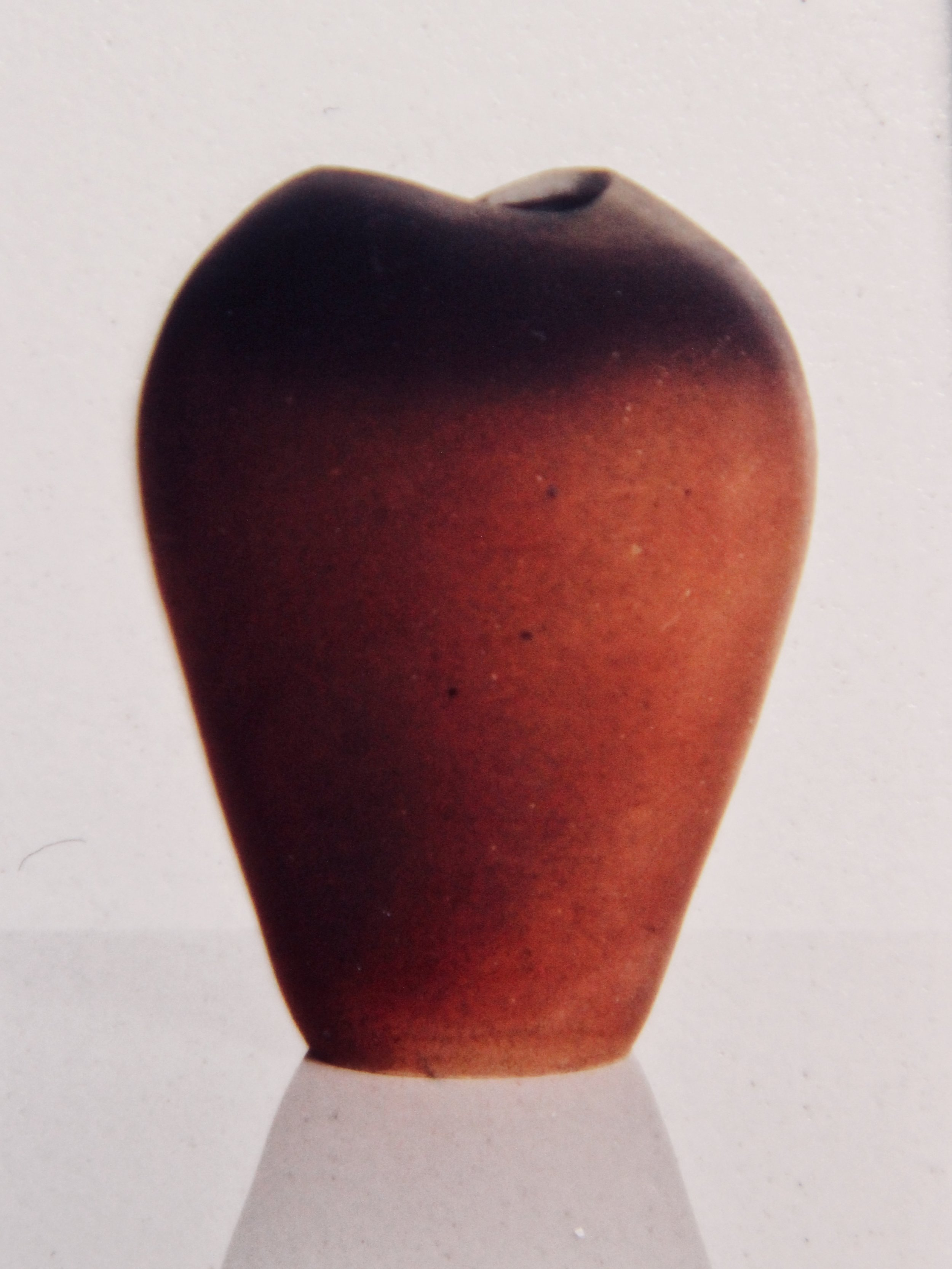 Lotus Pot -  1991 hand coiled ceramic (sold)
