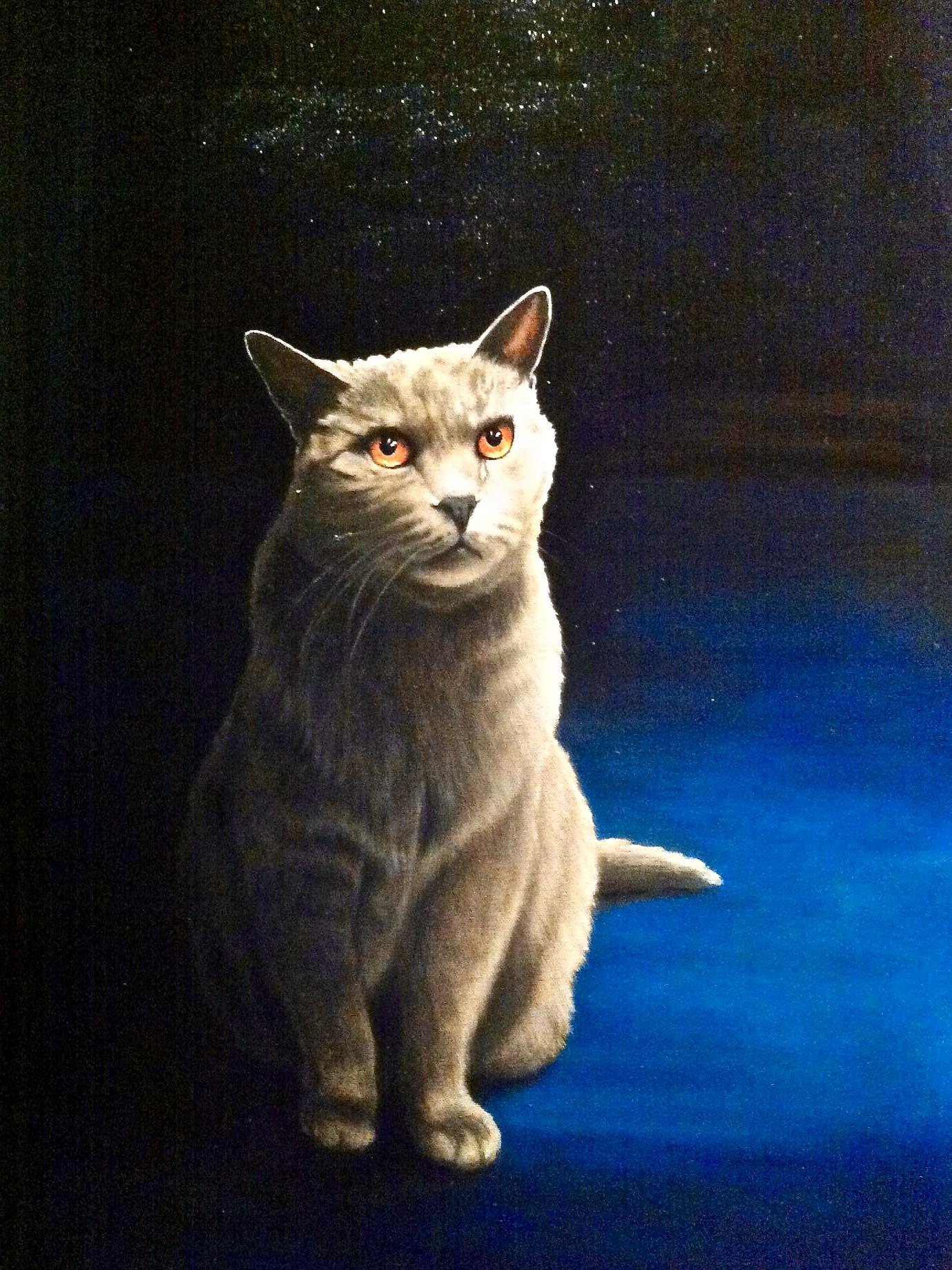 Titus -  2014 acrylic on canvas 76cm x 102cm (sold)