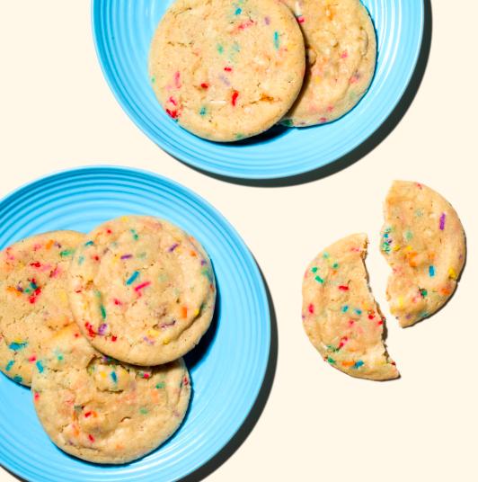 milk Confetti Cookies
