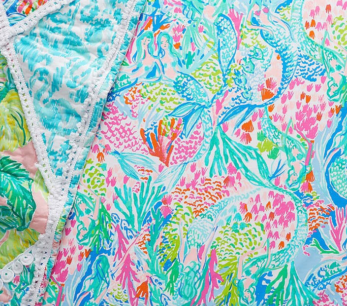 Mermaid Cove Crib Fitted Sheet