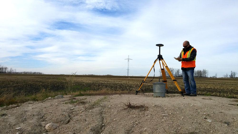 Our GPS and UAV surveys...