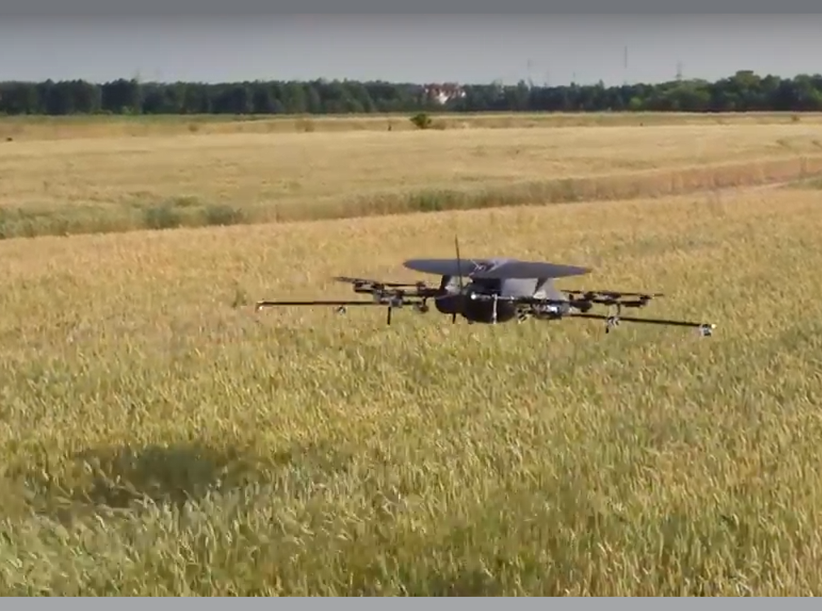 With our partners, Spray by UAV