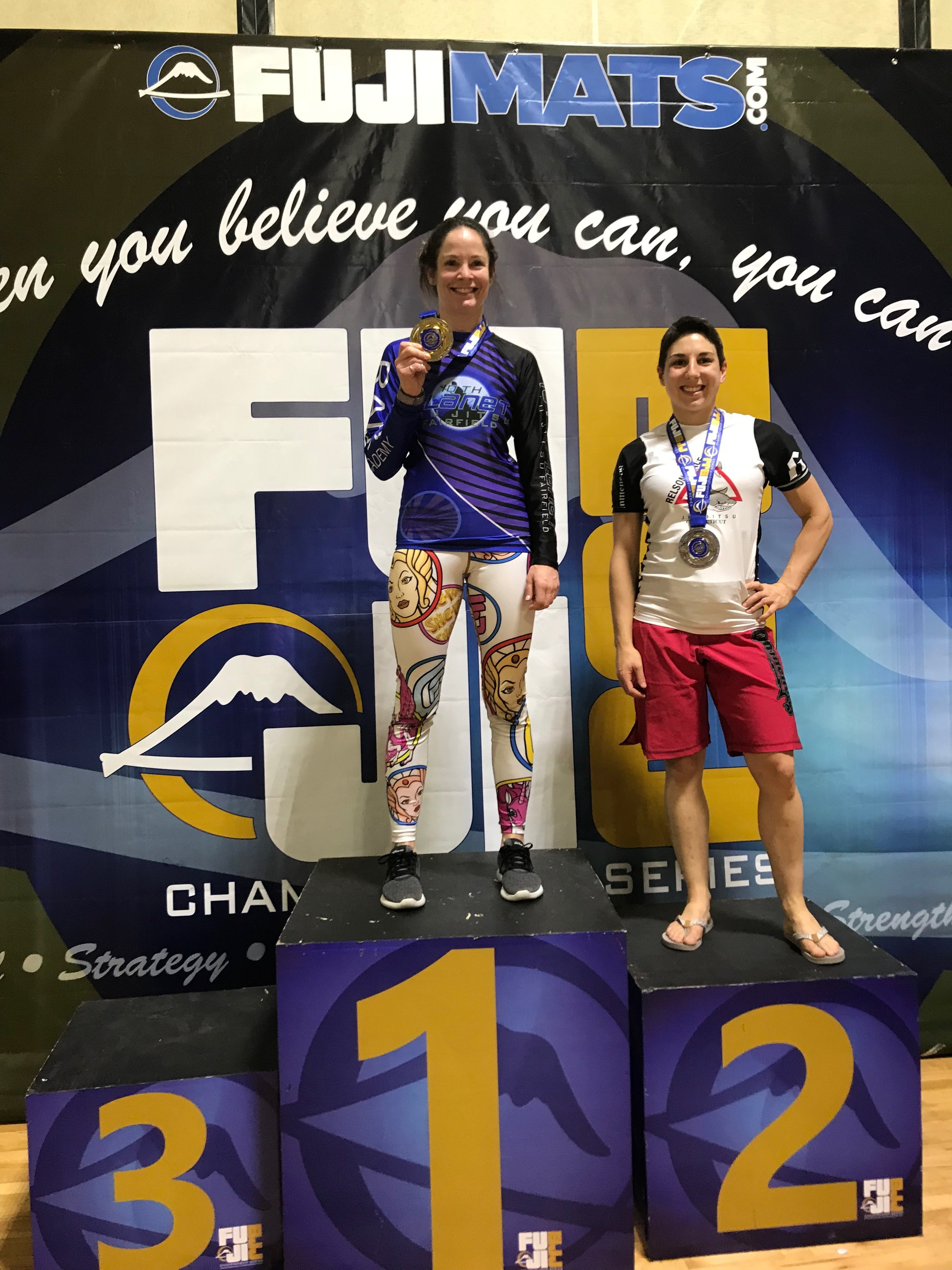 Danielle, 2nd place No-Gi