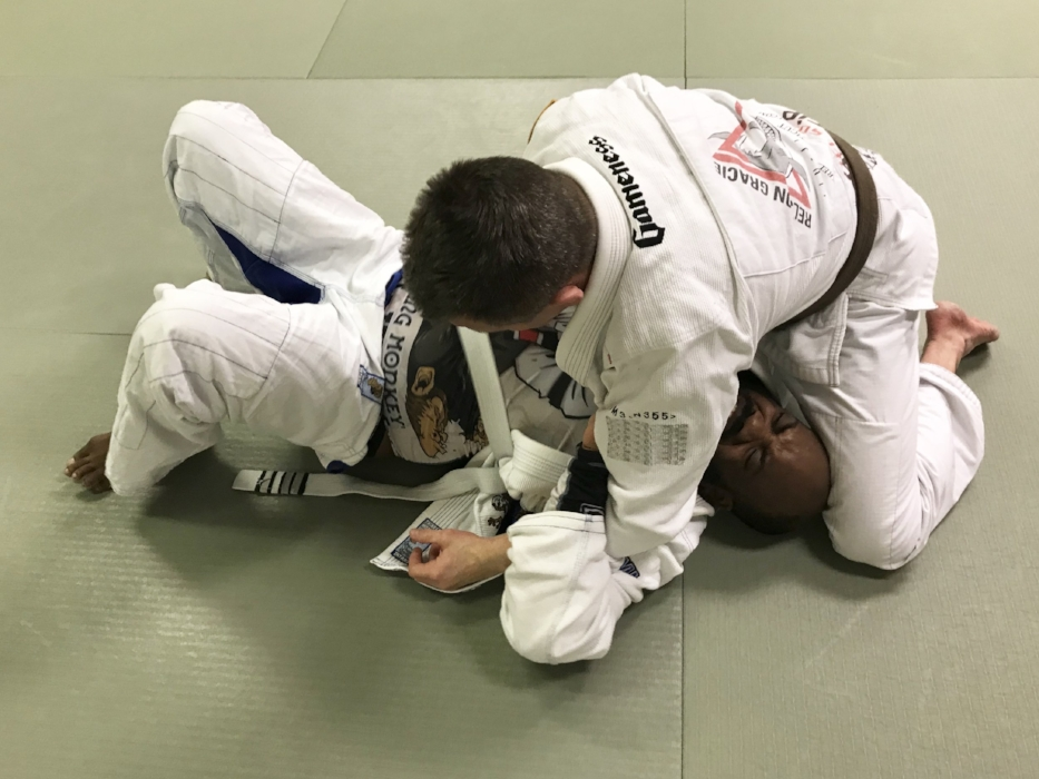 James starts to lose his white belt