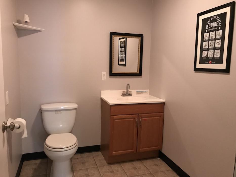 Front bathroom