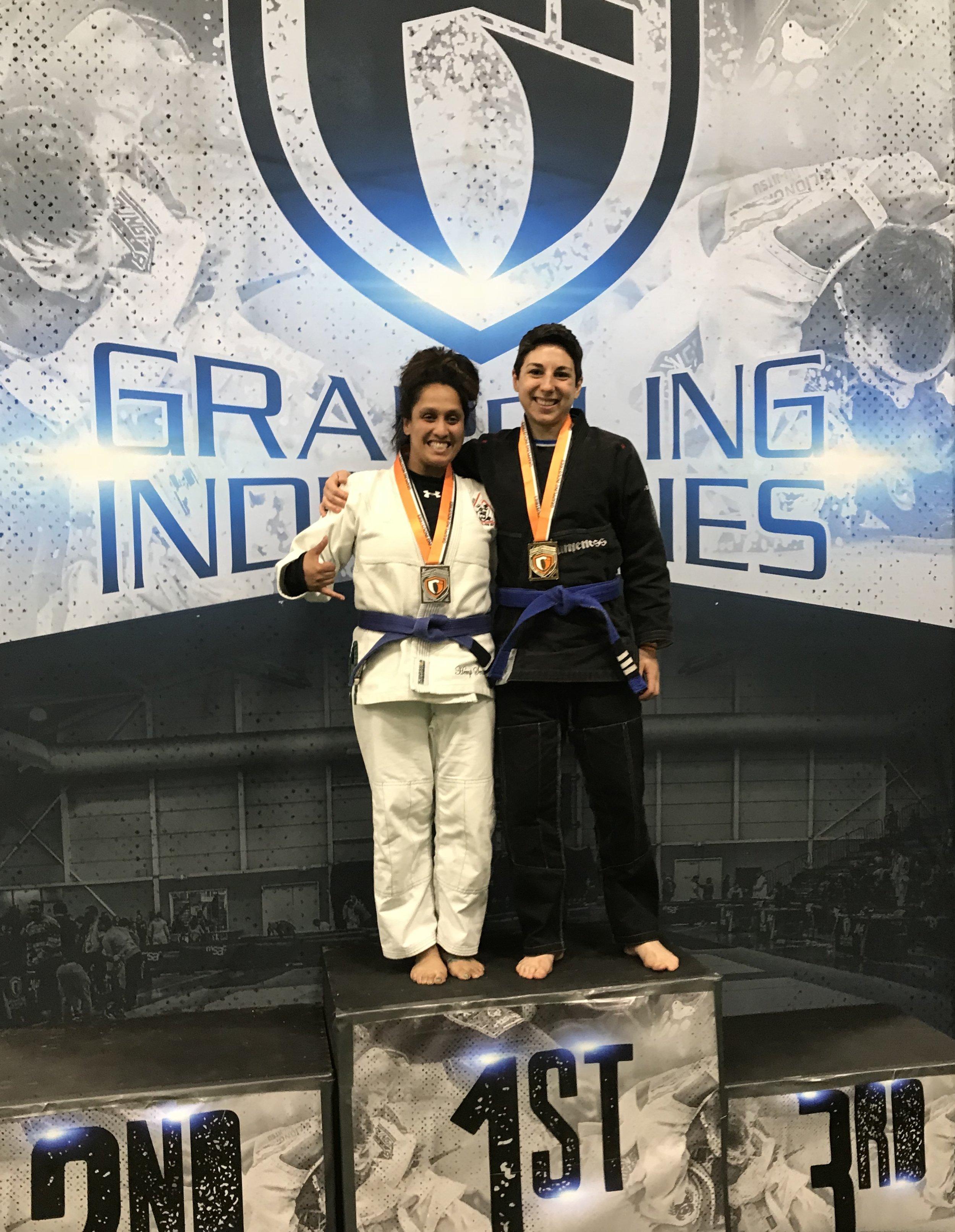 Danielle, 1st place (Gi, 135)