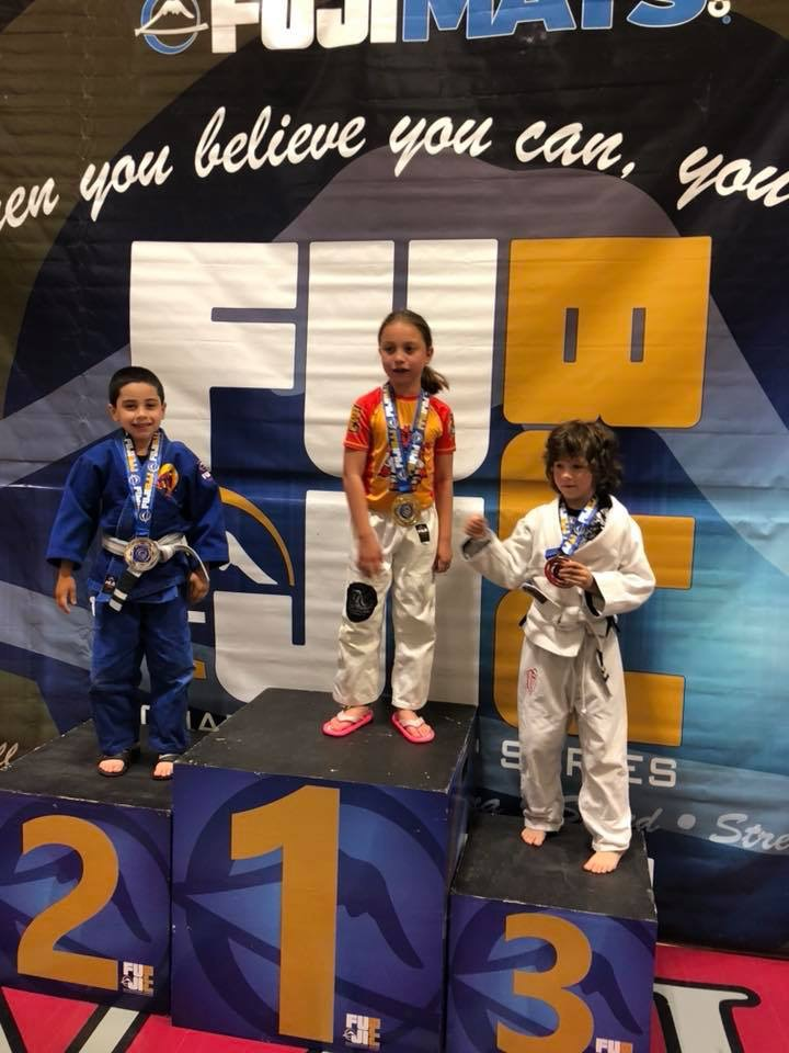 Sophie - 3rd place, gi