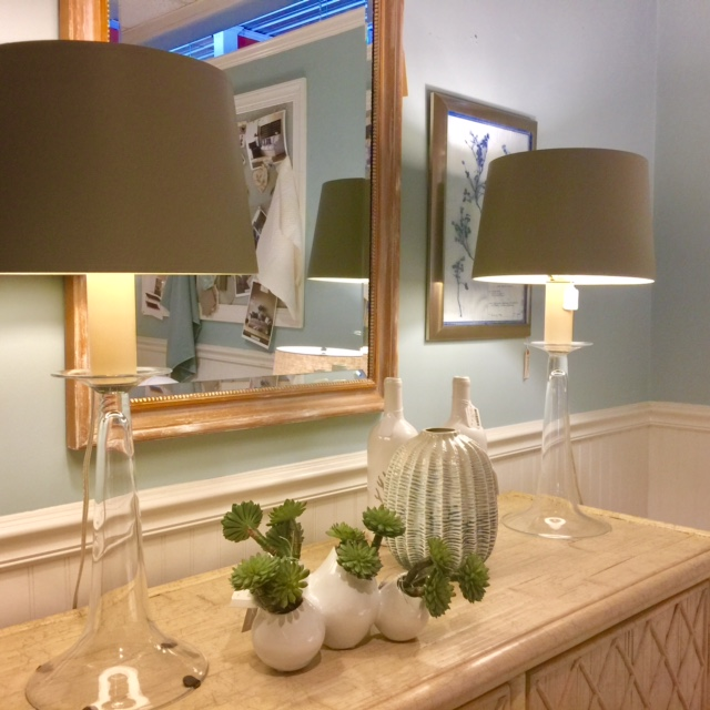 Barbara Cosgrove Lamps are one of many lamp lines we represent in our showroom.