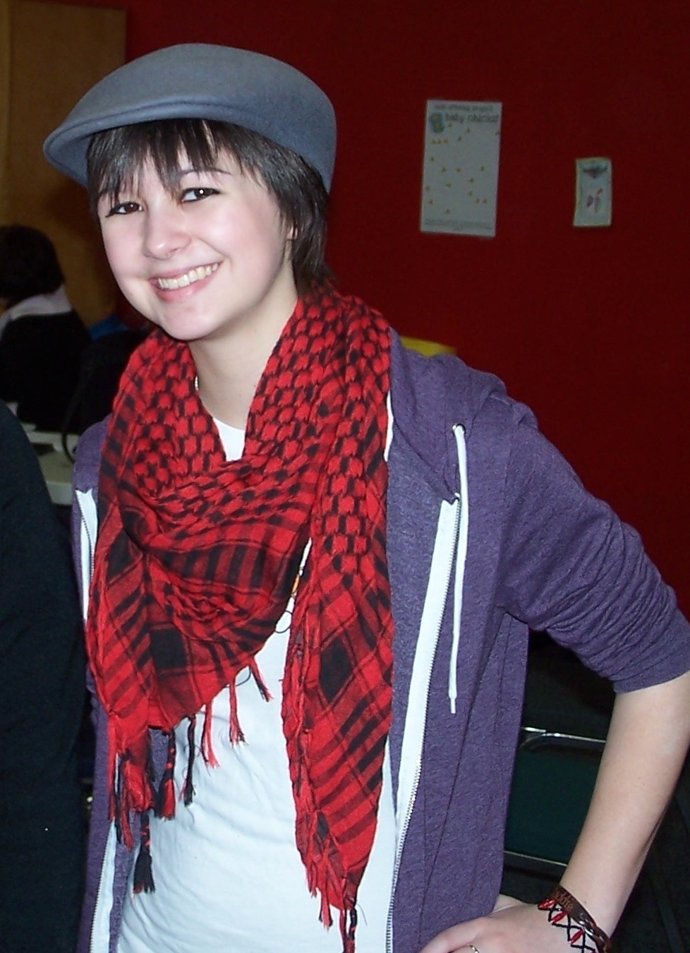 Borrowing my fashion choices from  Fall Out Boy 's Patrick Stump, 2010.