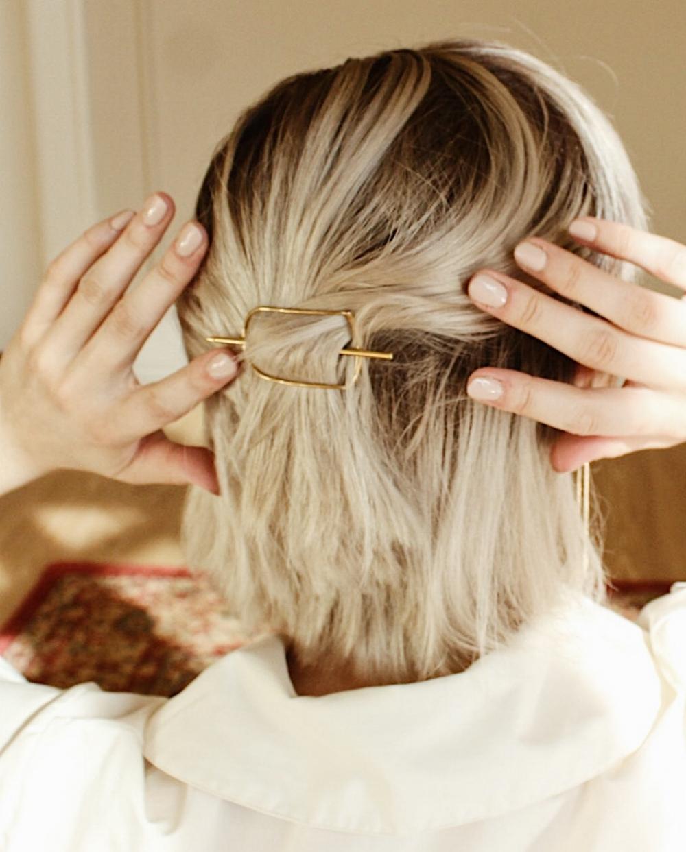 the ziph hairpin by ellen mote jewelry