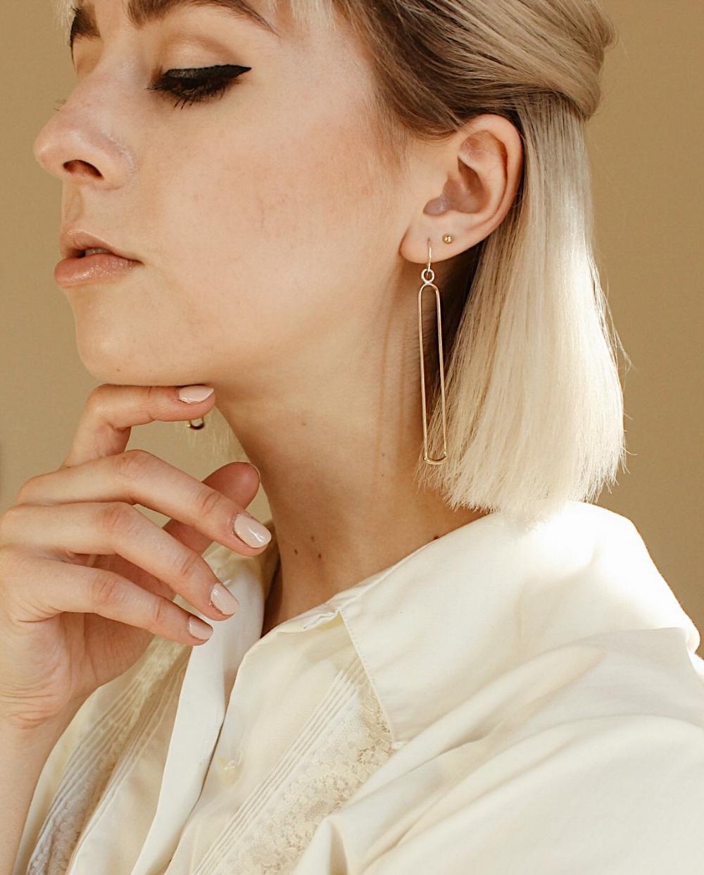 the xima earrings by ellen mote jewelry