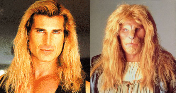 Fabio and Ron Perlman's Beast: compare and contrast