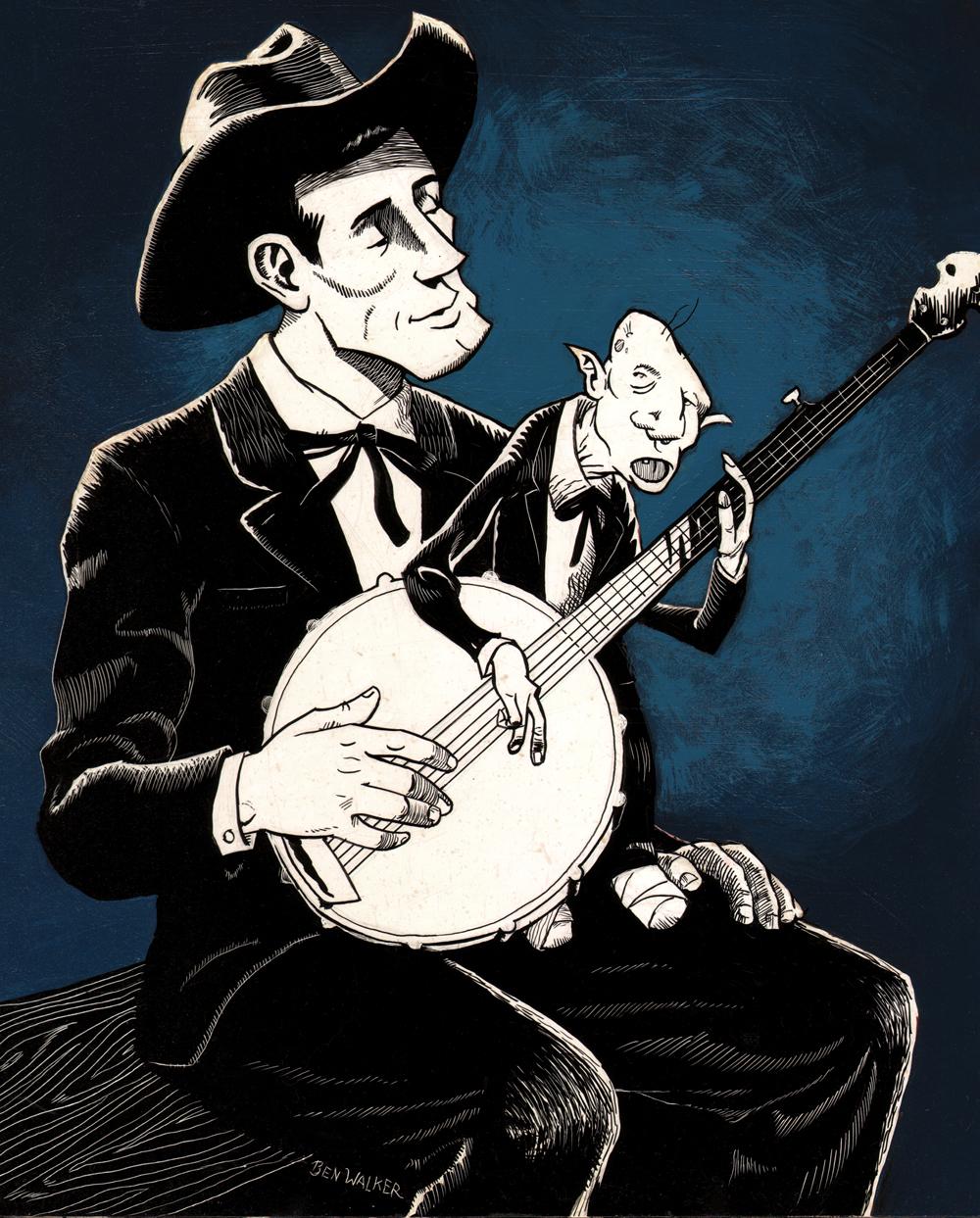 Buddy's Banjo Lesson - Ben Walker Storey, 2008
