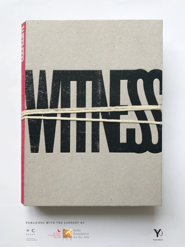 Book cover for Witness: Kashmir 1986-2016