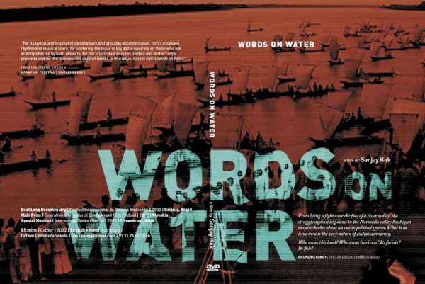 DVD cover for Words on Water