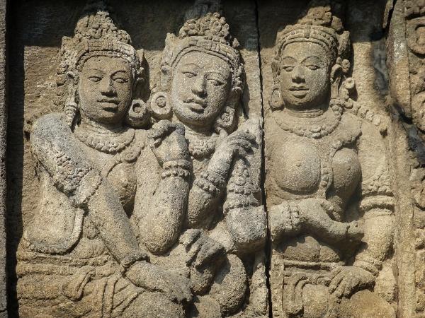 Siva Temple, Prambanan, Central Java. Image: Dharma from Penang, Malaysia/Wikimedia Commons