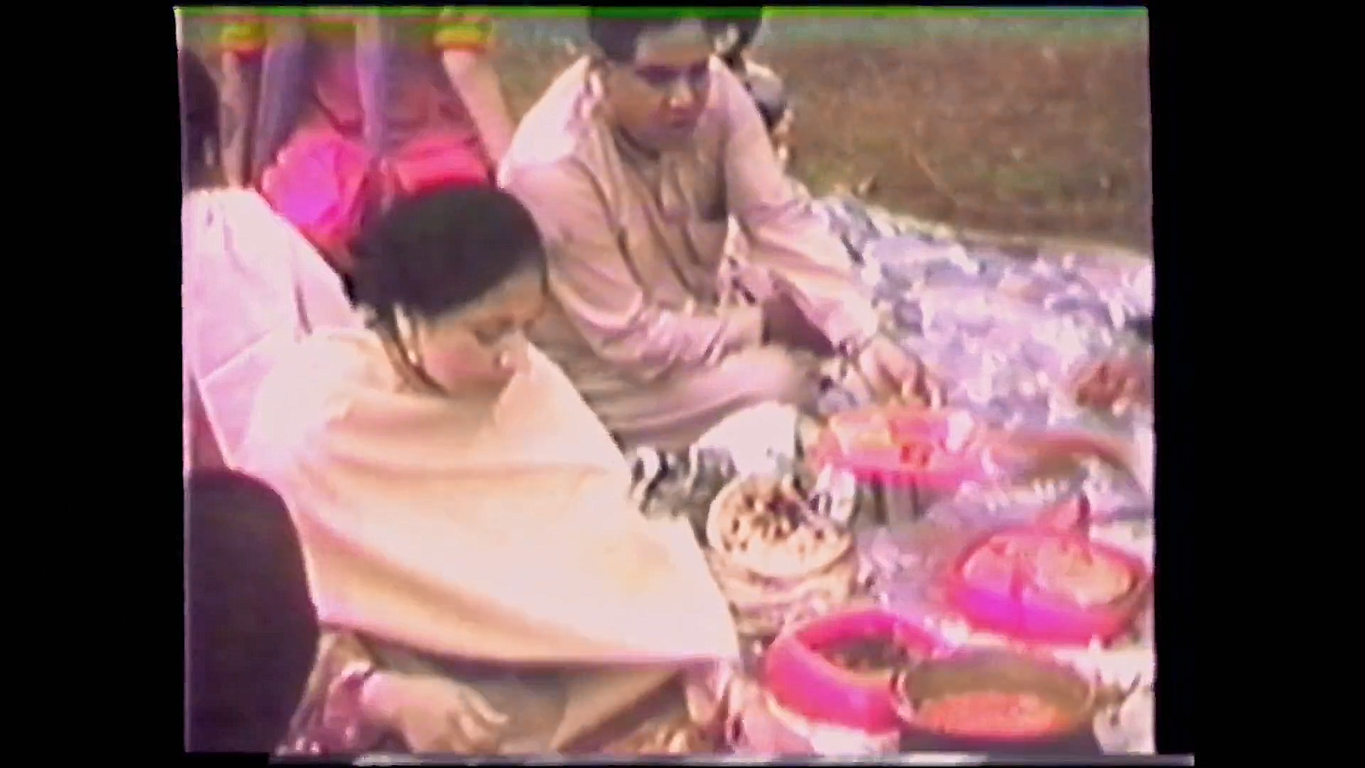 A still from the film: A family picnic in Islamabad before immigrating to Canada. Throughout the film, Arshad shared touching memories that capture his relationship with his parents. Source:    Film Trailer, IMDb