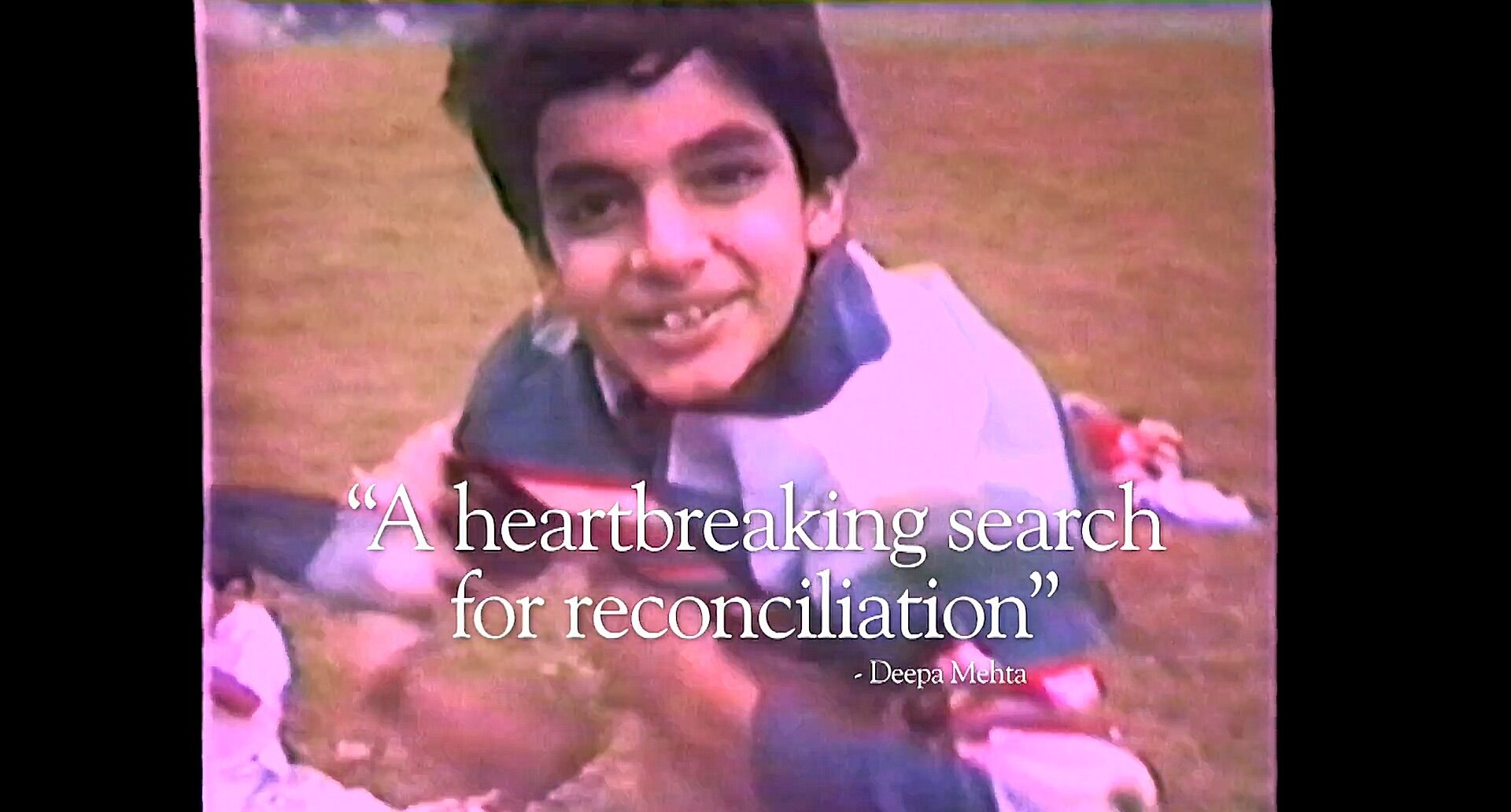 A still from the trailer: Arshad as a young boy. Source:    Film Trailer, IMDb