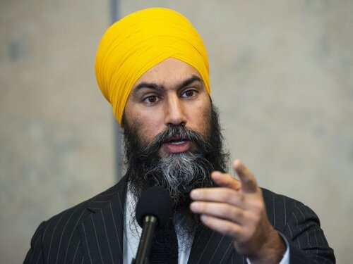 Jagmeet Singh has led the New Democratic Party of Canada since 2017. Image: National Post