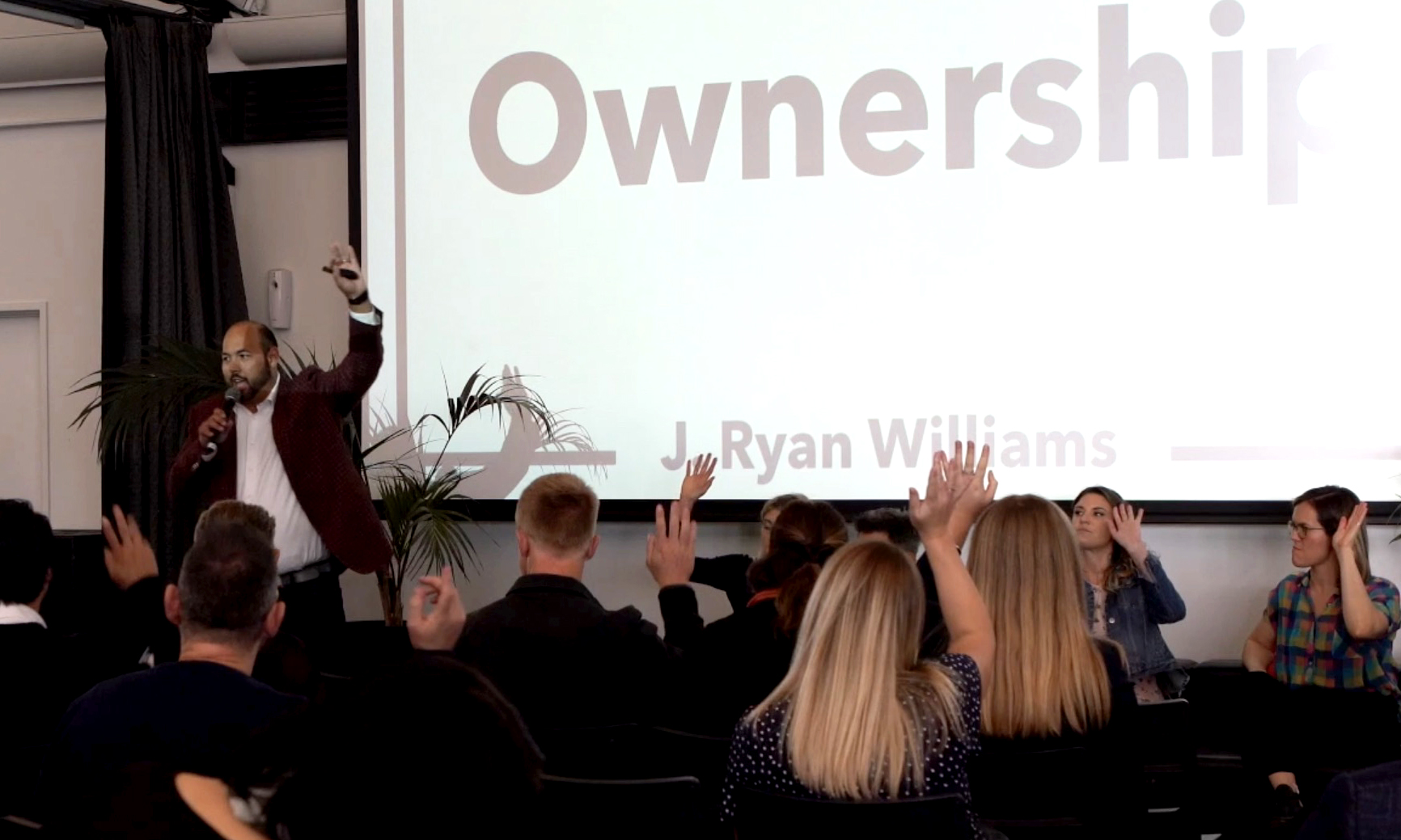 J. Ryan Williams, Executive Coach and Speaker for Tech Companies