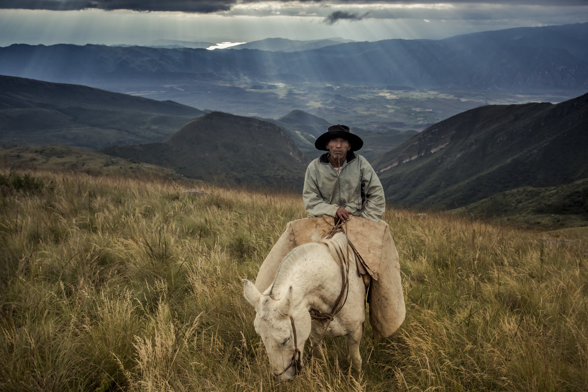 Don Antonio, our 80-year old guide, had lived up the mountain for six years, returning to the valley only once a week or fortnight to get supplies.