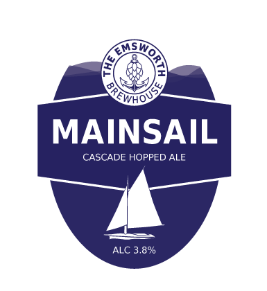 Mainsail - Mainsail is a light, flavour packed ale which uses Cascade hops delivering a floral aroma of citrus peel and tangerine with a refreshing crisp taste and only 3.8% ABV. An ideal ale for a warm summers evening.