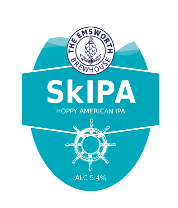 SkIPA - SkIPA is a hoppy, American IPA brewed using malts, oats, wheat and5 new world hops to create a rounded, 'fuller mouthfeel' India Pale Ale without being too much of a hop monster!