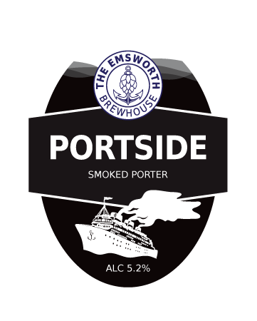 Portside - Portside is a smoked porter made using chocolate, dark, smoked malted barley and oats to give a rich smokey flavour with molasses coffee notes and a smooth finish.