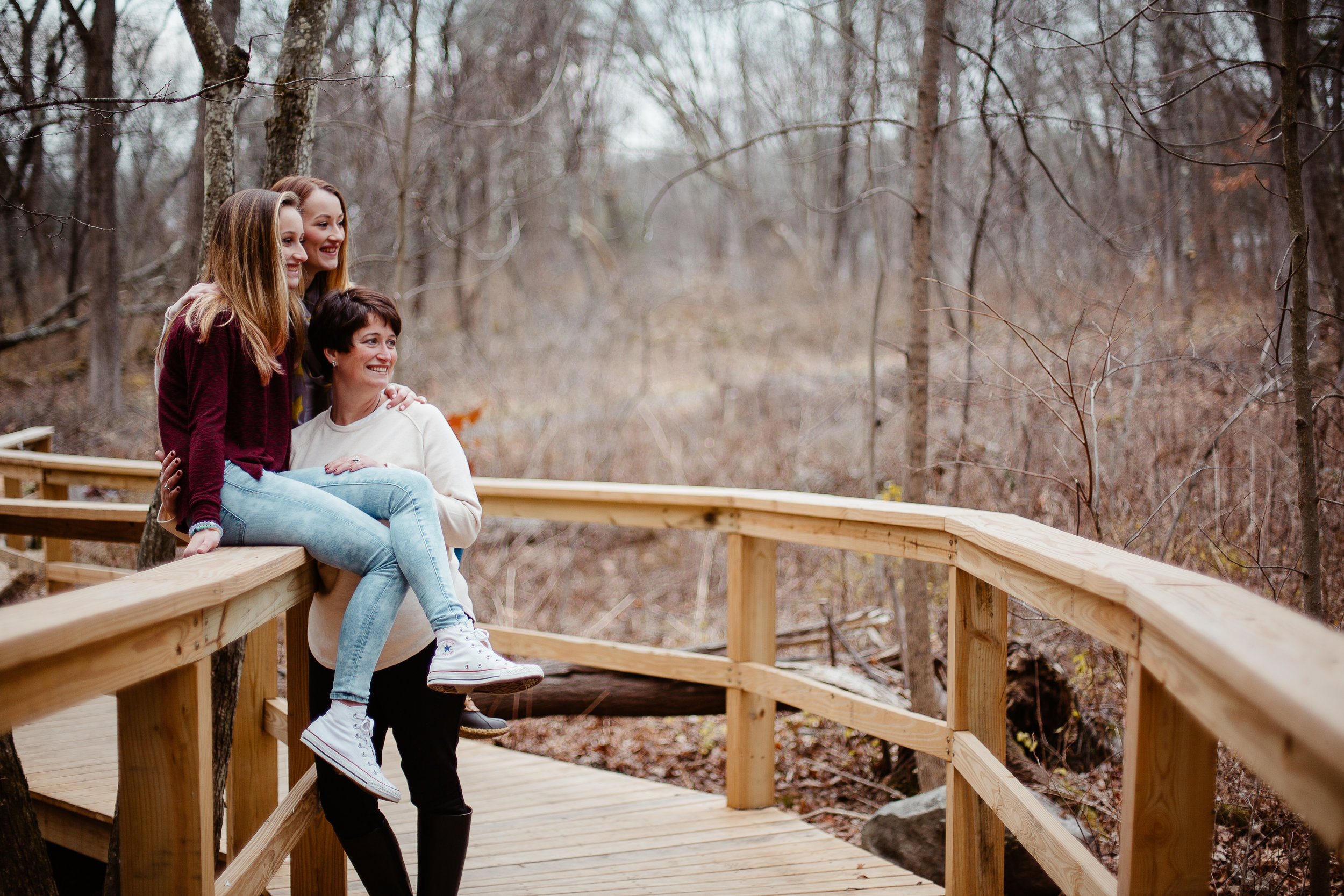 Joy Uyeno Greater Boston family photography Acton mother daughter session in the late fall