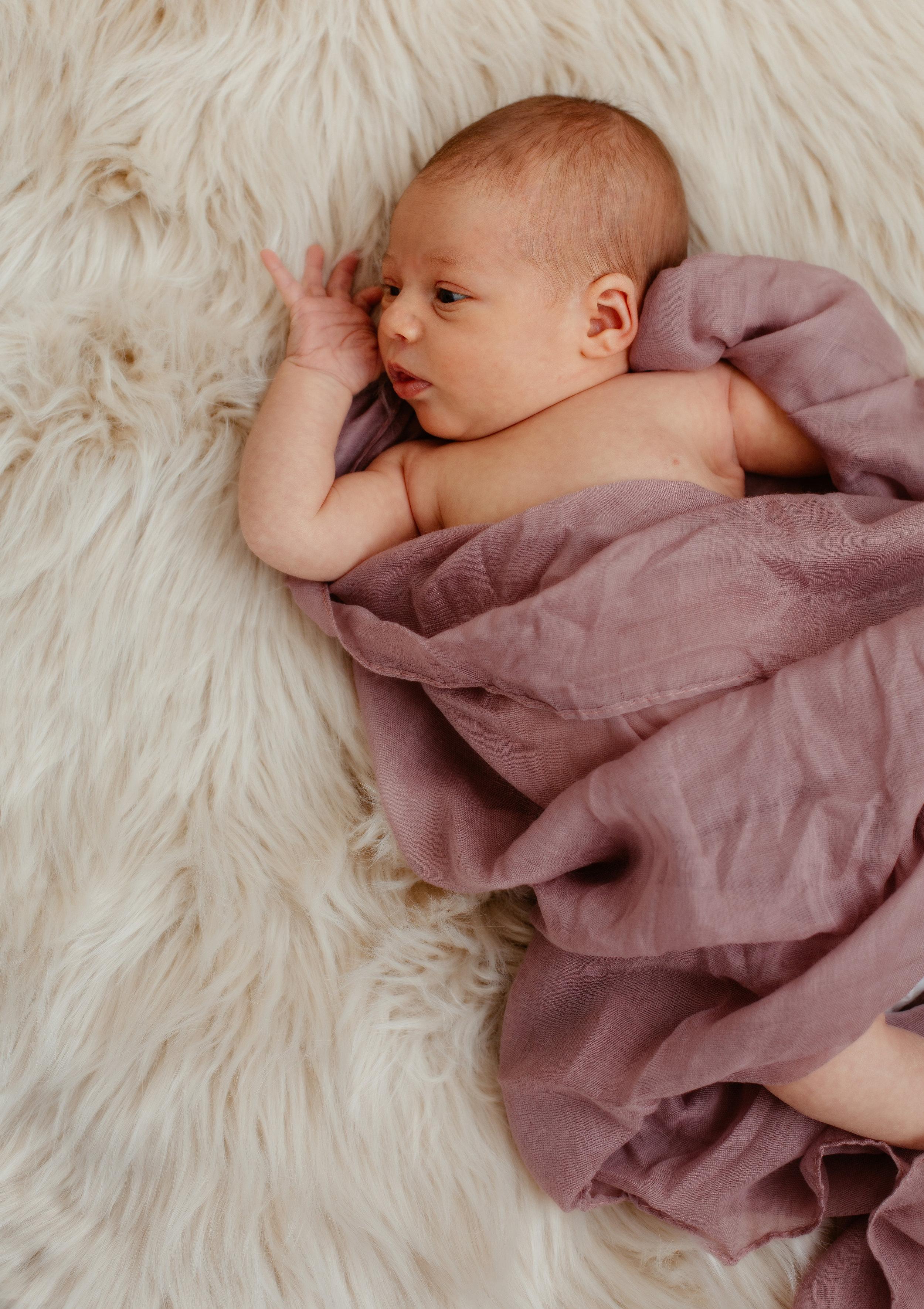 Newborn girl in-home session / Sudbury newborn photographer / Boston newborn photography