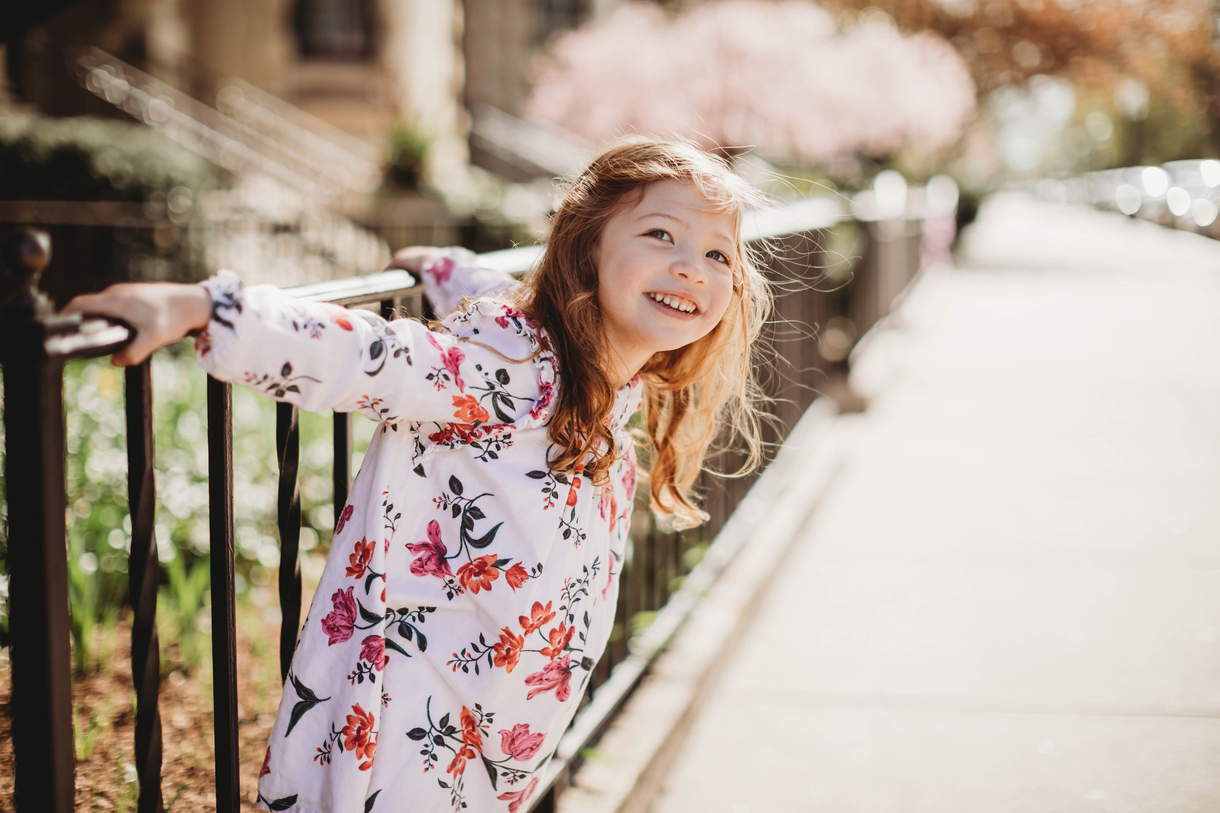 Springtime Cherry Blossom Photos | Boston Family Photographer