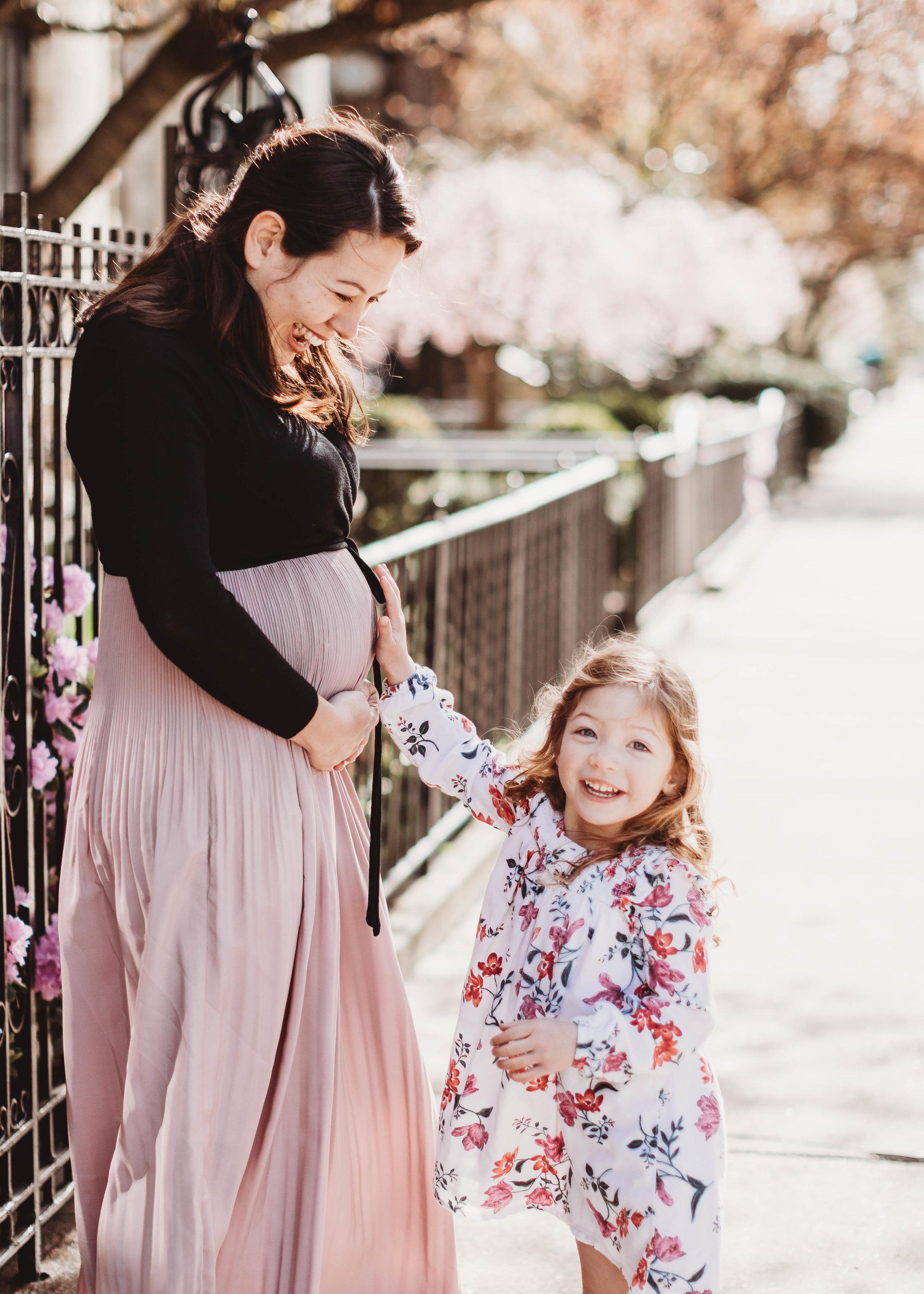 Mommy and Me Maternity Session | Sudbury Maternity Photographer