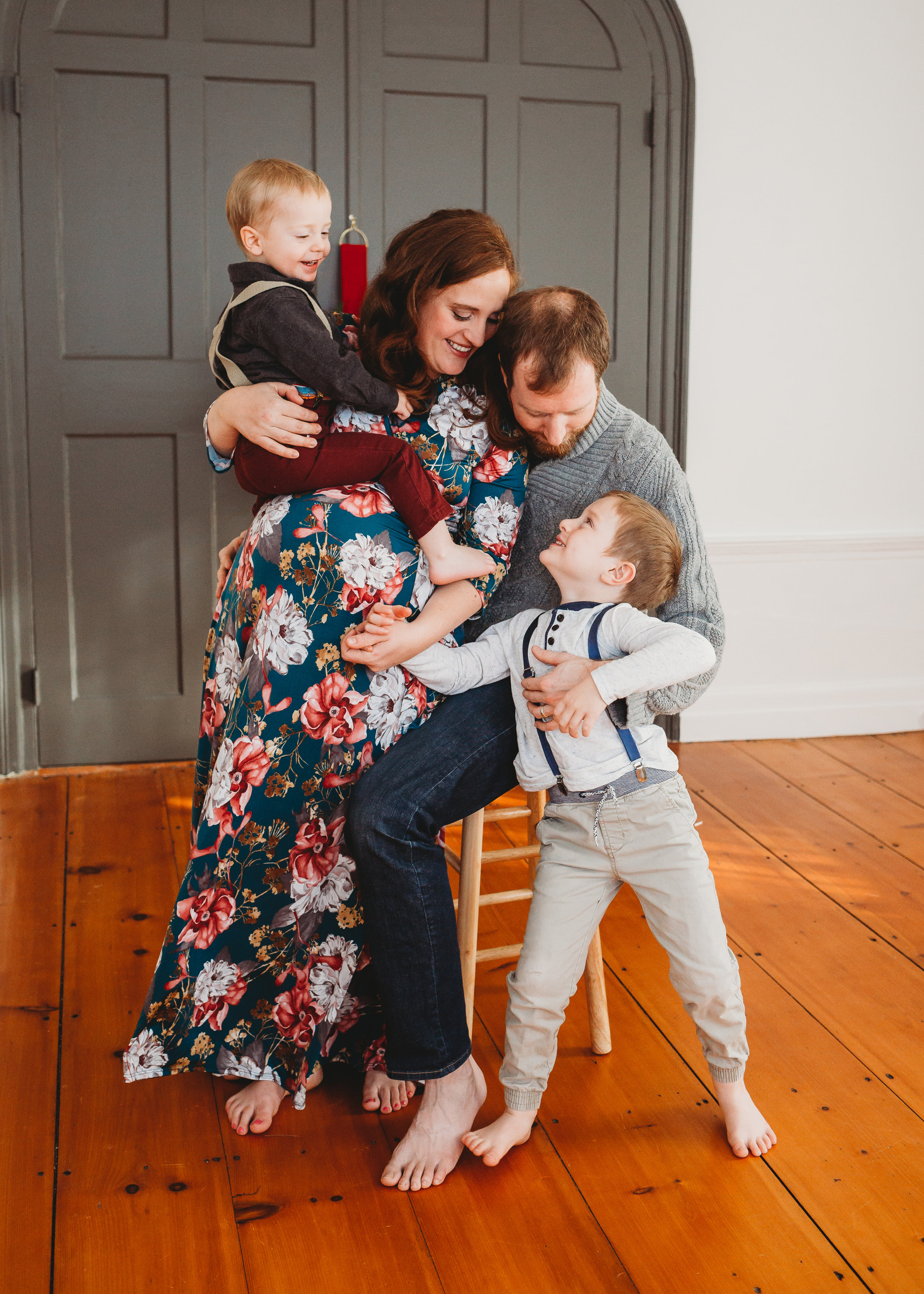 In-Studio Lifestyle Photography | Sudbury Maternity Photographer